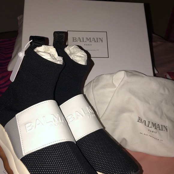 dbe1b739163 Balenciaga Shoes | Balmain Sock Sneakers Like Sneakers | Poshmark